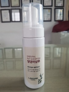 천연 펫샴푸 Natural Saponin Pet Shampoo US$42